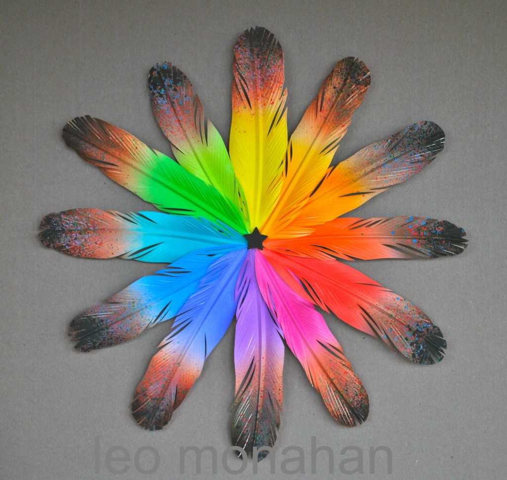 Feather Color Wheel